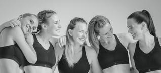 Diese Frauen feiern die Revolution des Sport-BHs