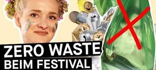 Zero Waste-Tipps fürs Festival: Vorbereitung für ein Festival ohne Müll || PULS Reportage