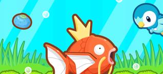 Karpador Jump - 9 Tipps für frische Fischtrainer
