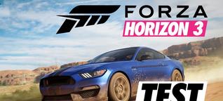 Forza Horizon 3 im Test: Abwechslungsreicher Rennspaß für Autoliebhaber