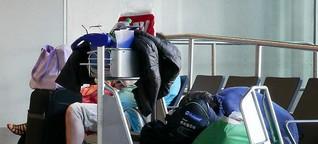 Unterwegs mit der ersten Airport-Sozialarbeiterin Deutschlands: Obdachlos am Frankfurter Flughafen | Frankfurter Neue Presse