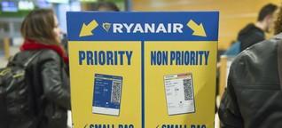 Ryanair-Handgepäck-Regeln: Warum strenger besser ist