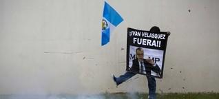 Guatemala - Der zähe Kampf gegen die Korruption