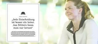 """Britta Steffen: """"Jede Entscheidung ist besser als keine"""""""