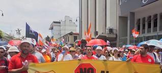 Costa Rica wartet auf Gerichtsurteil im Haushaltsstreit