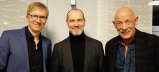 Moderation mit Simon Beckett & Joe Bausch