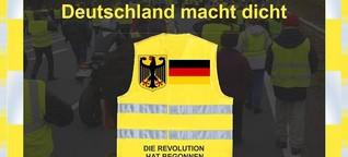 """""""Gelbe Westen"""" von rechts gesteuert? Die Bewegung in Deutschland"""
