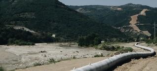 Proteste gegen Transadriatische Pipeline: Griechische Bauern gegen Erdgas