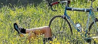 Mit dem Rennrad durch Mittelfranken