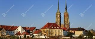 Breslau, eine der schönsten Städte Polens