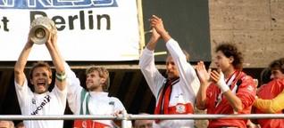 "Eintracht Frankfurt: Pokalheld ""Manni"" Binz bedauert nur, dass er den Ball 1988 weggeschossen hat - Wiesbadener Kurier"