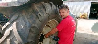 Pannenhilfe für Traktoren