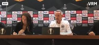 Eintracht Frankfurt vor dem Europa-League-Spiel in Rom
