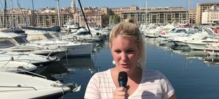 Eintracht vor dem Europa-League-Spiel in Marseille