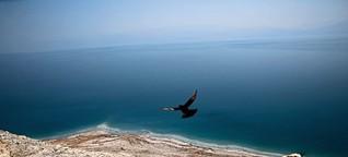 Das Tote Meer trocknet aus