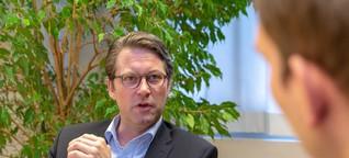 """Verkehrsminister Scheuer: """"Endlich reagieren die deutschen Autohersteller"""""""