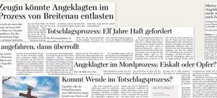 Mordprozess Breitenau | Freie Presse