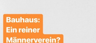 Bauhaus-Frauen - @dlfkultur