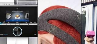 IFA-Highlights: intelligenter Kaffee, VR-Bürokonferenz und kluges Stirnband