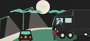 """""""Sweatshop on wheels """" - Das schmutzige Geschäft mit Lkw-Fahrern aus Osteuropa"""