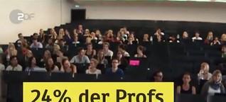 Zu wenig Professorinnen