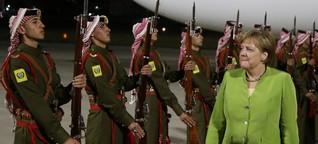 Gastkommentar: Angela Merkels Balanceakt in Jordanien und Libanon