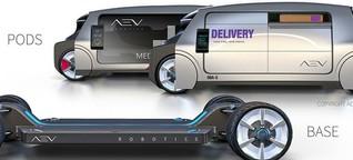 AEV: Modulares E-Auto aus Australien