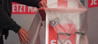 Faeser: Große Koalition schuld am schlechten SPD-Abschneiden