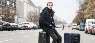 Gestrandet in Berlin - Zwei Koffer, aber keine Wohnung