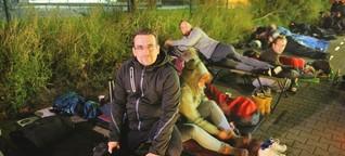 So ist es, in Berlin eine Nacht lang obdachlos zu sein