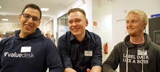 Start-Up-WG: Pitching zwischen Putz- und Businessplan
