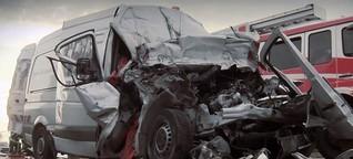 """Unfallrisiko: """"Polen-Sprinter"""" im Dauerstress"""