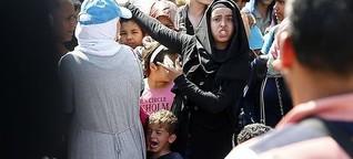 Flüchtlinge: Wir müssten reden