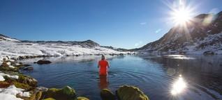 Winterschwimmerin: Sucht nach Kälte - SPIEGEL ONLINE - Reise