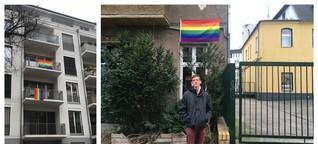 Gegen Homophobie: 100 Regenbogenfahnen für die Nachbarschaft