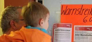 Tarifstreit im öffentlichen Dienst - In den Berliner Kitas wird gestreikt
