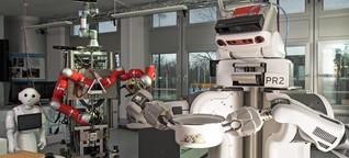 """Roboter als Küchenhilfe: """"Boxy"""" macht Popcorn"""