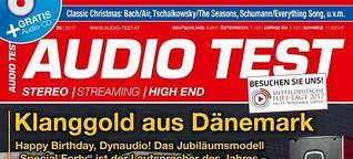 AUDIO TEST Ausgabe 8/2017