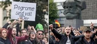 Chemnitz: Wie eine Stadt in den Ausnahmezustand stürzte - WELT