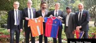 Der FC Basel in Indien - ein kühnes Vorhaben