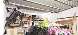 Stell das ja nicht in die Garage!
