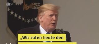 Trump kündigt Notstand an