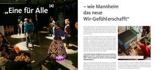 Eine für Alle - wie Mannheim das neue Wir-Gefühl erfindet