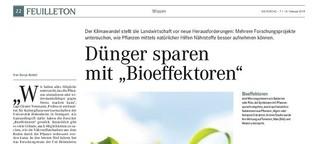 Dünger sparen mit Bioeffektoren