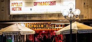 Zünftige Bier-Bar: Apollo-Hüttn zieht ins einstige Kino