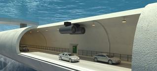 Norwegen wird schwimmende Brücken und schwebende Tunnel bauen