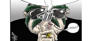 """Aus der Sonderausgabe """"Charlie Hebdo"""": Als Charbs Redaktion """"Rapé"""" Exil gab"""