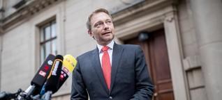 """Druck von Lindner: """"Jamaika"""" auf der Kippe?"""