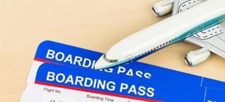 Flugbuchung: Teure Namensänderung bei Fluggesellschaften
