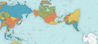 Diese seltsame Weltkarte ist die genaueste, die es gibt - WIRED